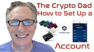 How to set up Crypto.Com Wallet Account