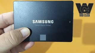 Unboxing | SSD Samsung 850 EVO 250GB Solid State Drive Hard Disk 2.5 inch SATA3 - PT-BR