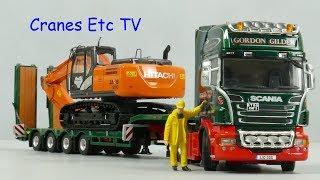 WSI Scania R730 + Broshuis Trailer
