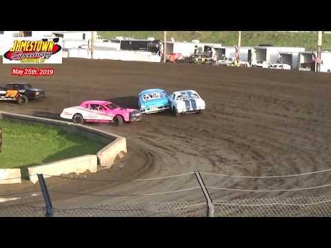 Jamestown Speedway WISSOTA Street Stock Heats (5/25/19)