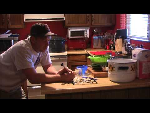 Making Seedless Blackberry Jam with a Food Mill