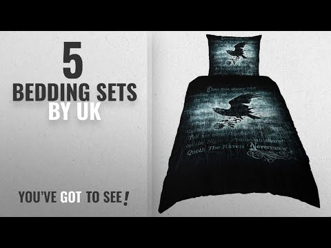 Top 10 Uk Bedding Sets [2018]: Alchemy Gothic Nevermore Twin Duvet / cover Comforter Set