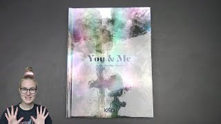 Unboxing KARD 카드 2nd Korean Mini Album YOU & ME