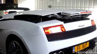 2013 Lamborghini Gallardo Convertible Hard Top in Action AMAZING! Top Function
