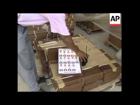 HAITI:  BALLOTS DISTRIBUTED FOR PRESIDENTIAL ELECTIONS