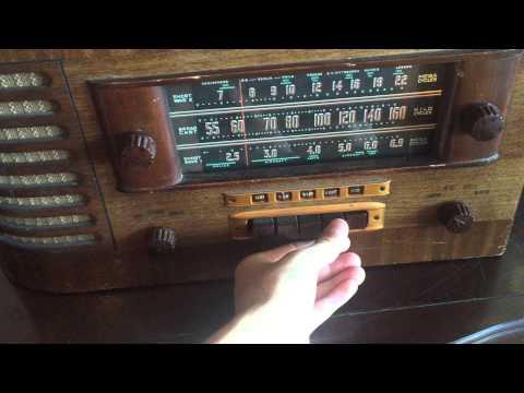 General Electric model j-64 radio