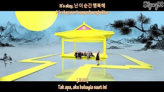 BTS 'IDOL' MV [Sub Indo+Hangul+Romanisasi] (Color coded) HD