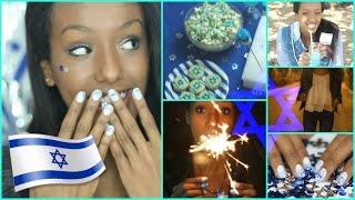 ✡ כל מה שצריך יום העצמאות! (לוק שלם +נישנושים!) DIY ✡