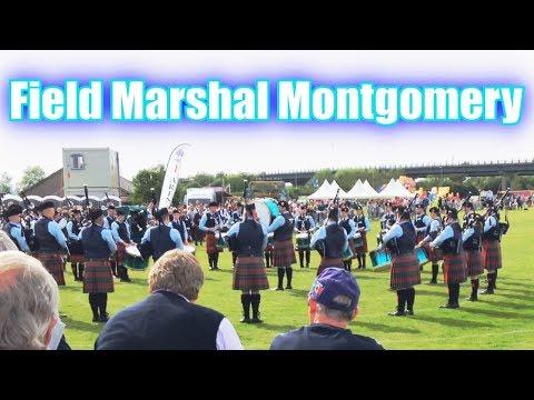 Field Marshal Montgomery Pipe Band at Paisley - British Pipe Band Championships