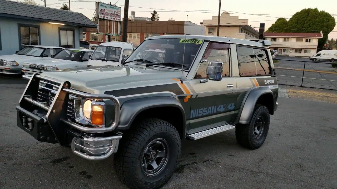 FOR SALE: Nissan Safari 1989, diesel TD42, VRY60, PTO winch, 5 speed manual