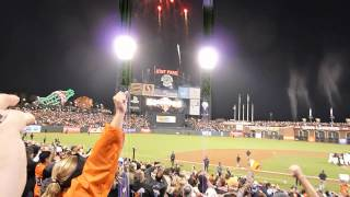 San Francisco Giants - The 2012 National League West Champions!!!