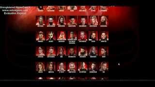 WWE2K15 Full Roster