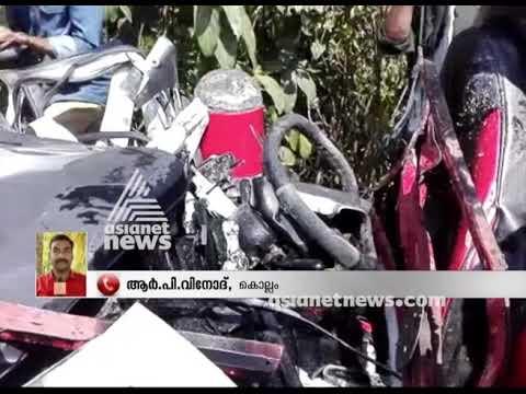 5 killed as Car hit KSRTC at Kottarakkara