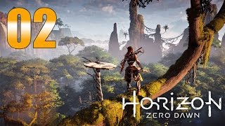 Horizon Zero Dawn - Gameplay Walkthrough Part 2: Stealth-Master Cowboy
