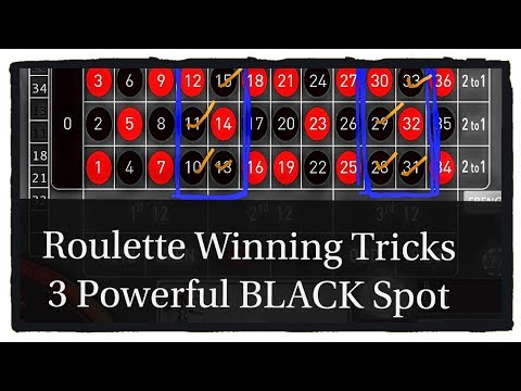 3 Powerful BLACK Spot On Roulette Table For Winning Big Money