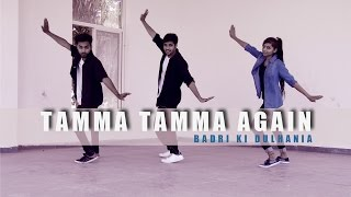 Tamma Tamma Dance video  | By Suraj Bhujel | Badrinath Ki Dulhania