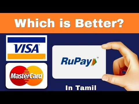 What Is RuPay Card, VISA Card, MasterCard? | Different Types Of DEBIT CARDS In INDIA I Tamil