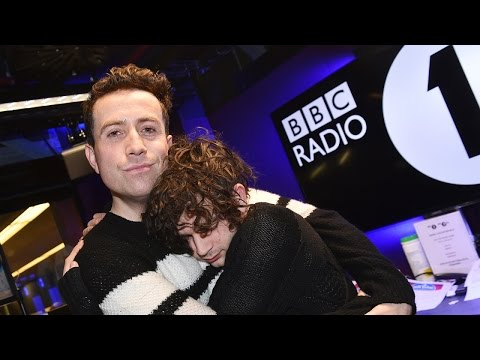 Matty Healy from The 1975 co-hosts The BBCR1's Breakfast Show // January 2017 (part 3)