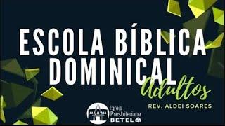 EBD ADULTOS: Aula 11: UMA CONFISSÃO ALICERCE #BetelnoLar