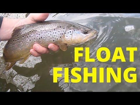 FLOAT Fishing MASSIVE Trout - SO MANY FISH (fly Fishing)