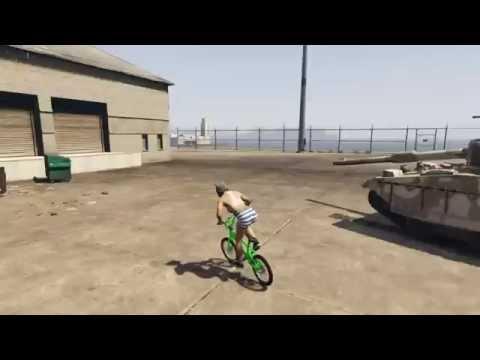 Gta 5 Bisiklet Surme Youtube