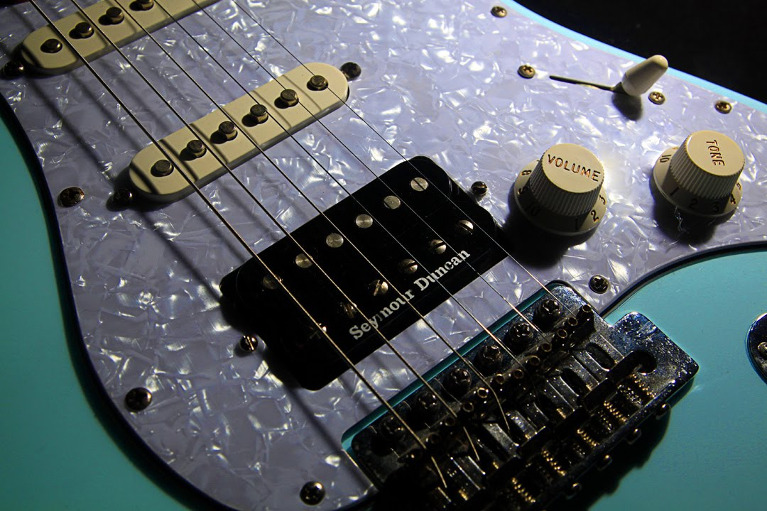 Fender stratocaster refinish and pickup swap | single coil to ...