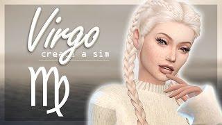 The Sims 4: Zodiac CAS // Virgo + Full CC List