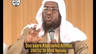 Sheekh Umal - waxaa iga shardi ah $10,000  ruuxii keena ? !!