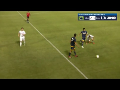 Development Academy U-17/18 Semifinals: Seattle Sounders FC vs. LA Galaxy