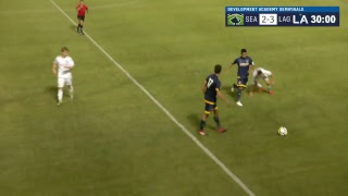 Development academy u-17/18 semifinals: seattle sounders fc vs. la galaxy