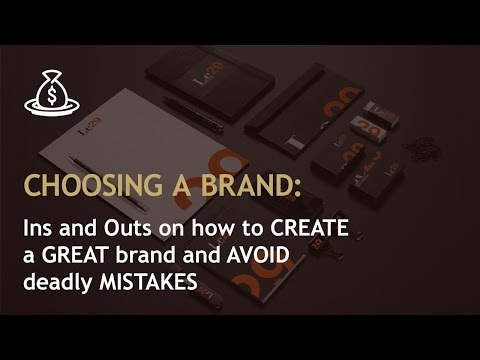 Amazon branding strategies: How to CREATE a GREAT brand and AVOID deadly MISTAKES