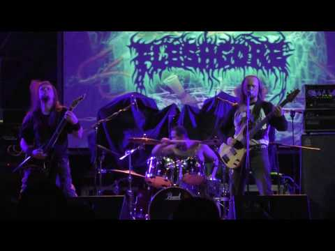 Fleshgore - Jolly Roger Death-Metal Fest, Bingo Club, Kiev, Ukraine 18-11-2016