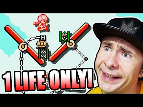 THIS VIDEO IS A DISASTER // 1 Life ONLY Endless Normal Challenge [#2]