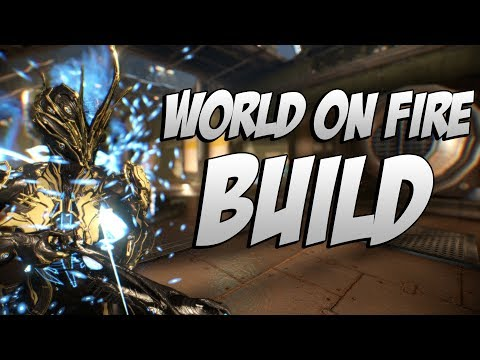 Warframe: Ember World on Fire Build