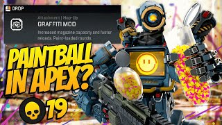 Paintball In Apex Legends?! New LTM And Graffiti Hop Up! | Nicewigg Apex Legends Gameplay