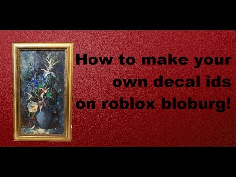 how to create a decal roblox