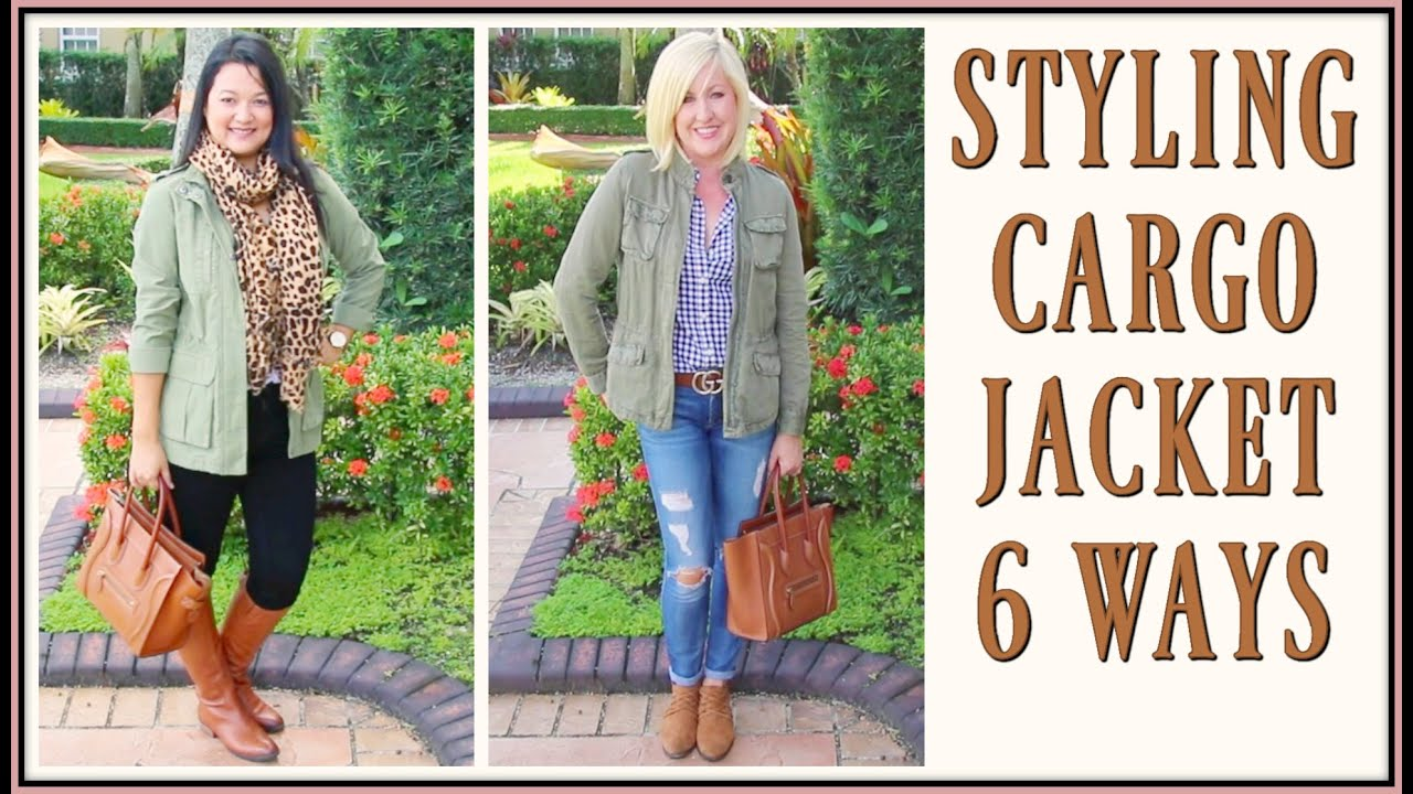 [VIDEO] - Fall Outfit Trends 2018 for Women over 40 | How to Style a Military Jacket Lookbook 3