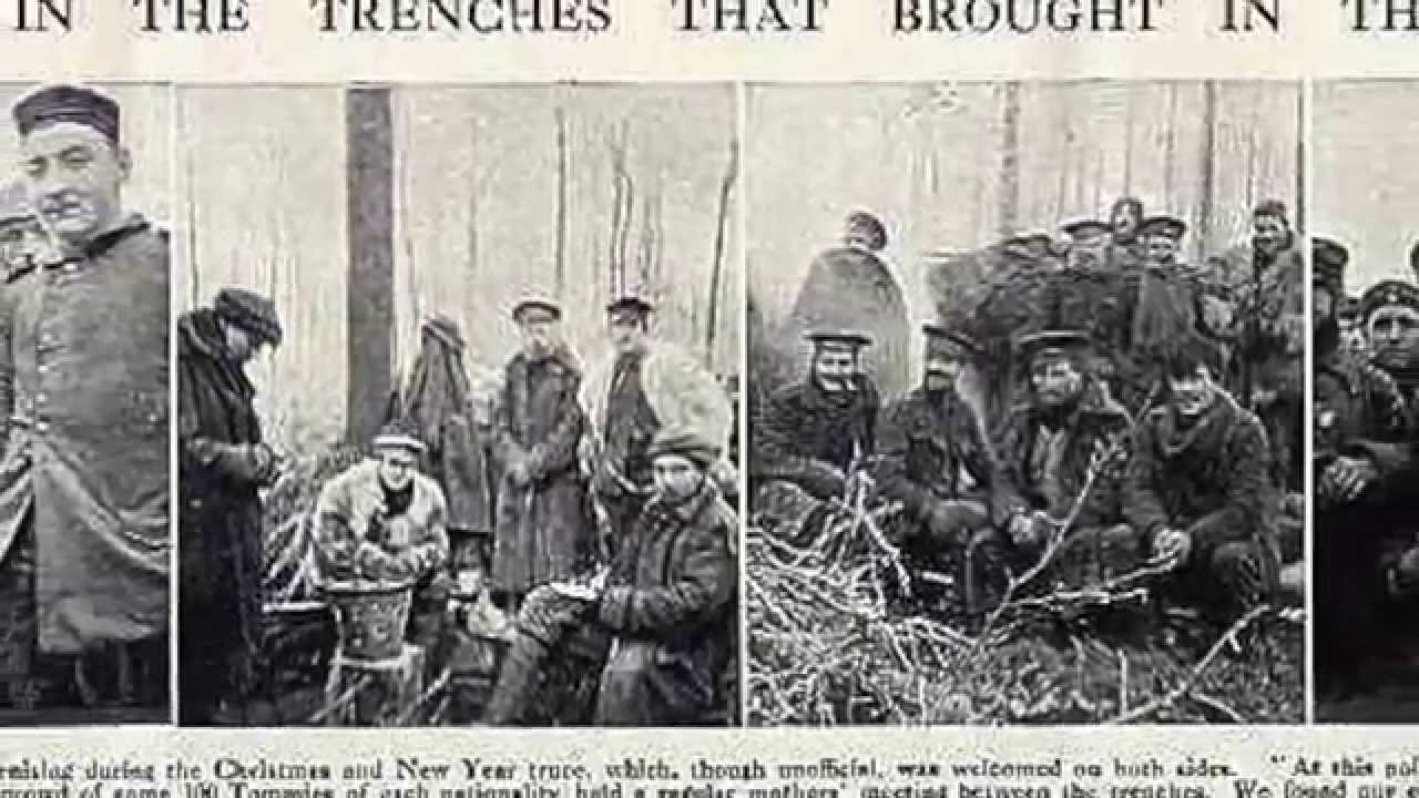 Peace in No Man's Land—The Christmas Eve Truce of 1914—Amnesty - YouTube