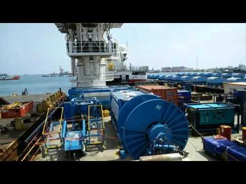 malikai deepwater installation pipeline
