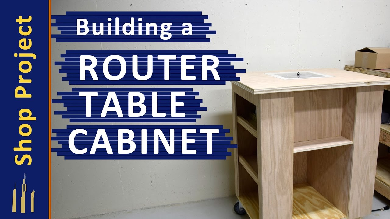 Building a router table cabinet without a table saw youtube building a router table cabinet without a table saw greentooth Choice Image