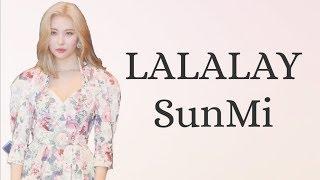 Lirik lagu Sunmi  Lalalay
