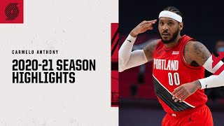 Carmelo Anthony 2020-21 Season Highlights | Trail Blazers
