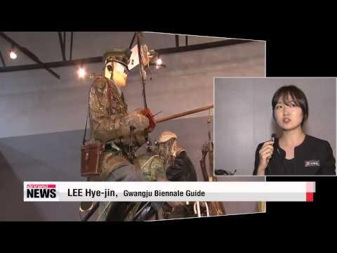 Gwangju Biennale opens   광주비엔날레