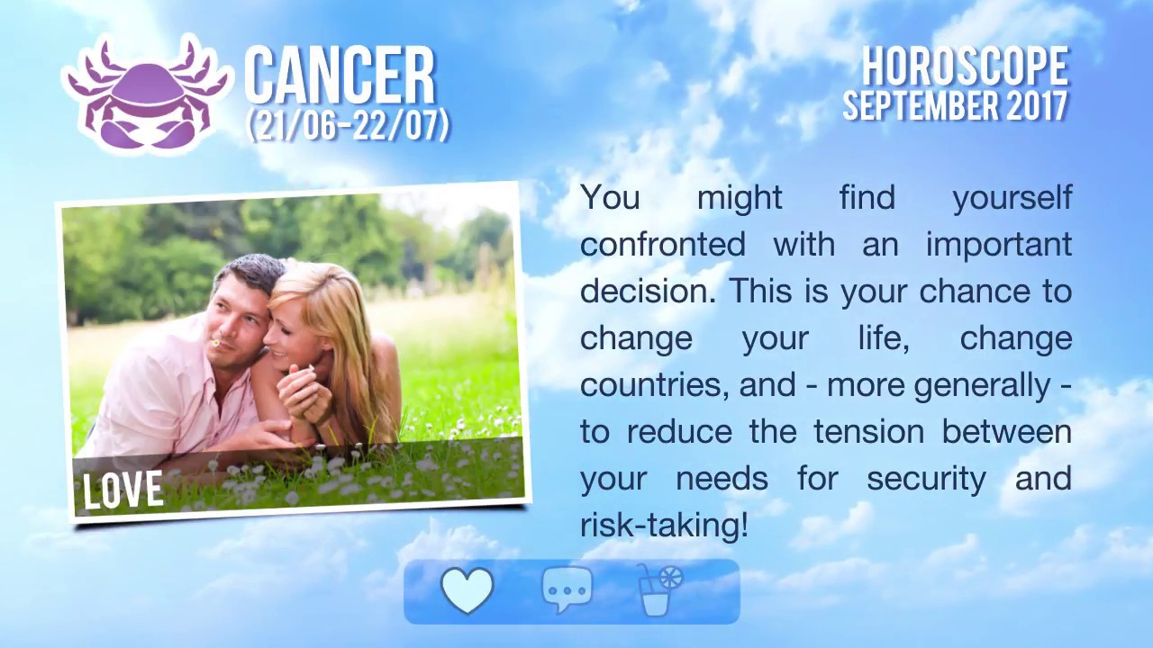 Horoscope for September 2017 77