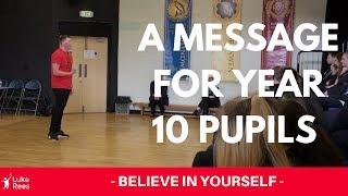 Luke Rees | Motivational Speech at Abertillery Learning Community