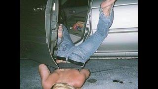 Пьяные девушки, приколы, жесть.
