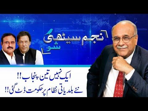 Will PTI Govt Make South Punjab Province?   Najam Sethi Show   24 April 2019