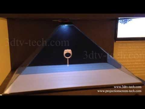 3D Hologram Pyramid