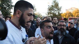ALI DAWAH CONFRONTS ISRAELI SOLDIER AVI YEMINI - SPEAKERS CORNER