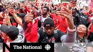 Canada, not just Toronto, making history in the NBA Finals